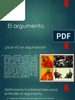 PPT Sobre El Argumento