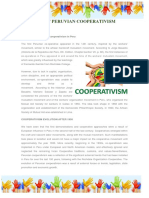Day of Peruvian Cooperativism