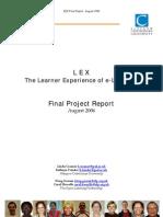 LEX Final Report_August06