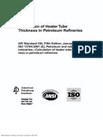 API 530 Cálculo de espessura de tubos para troca térmica em refinarias.pdf