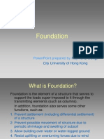 Construction Technology series Foundation
