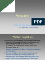 Construction Technology series Foundation