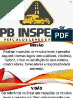 PB Inspeção - Apresentação