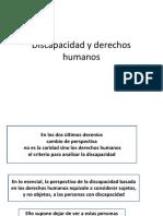 PPT Discapacidad y Derechos Humanos