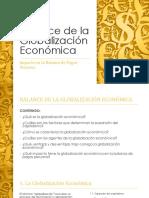 Balance de La Globalización Económica