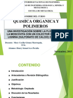 EXPOSICION-QUIMICA ORGANICA