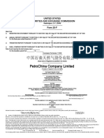 Petrochina Co Ltd - 2017 Financials - SEC Filing - 27 April 2018