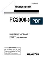 PC2000-8 Manual de Operación