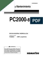 PC2000-8 Manual de Operación
