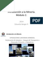 IMIN 2 - Operaciones Unitarias Mineras