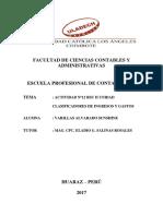 CLASIFICADORES DE INGRESOS Y GASTOS