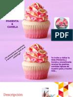 Texto Promocional Pimienta y Canela