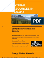 natural resources in canada 1