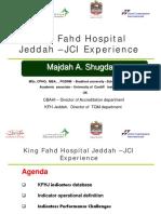 King Fahd Hospital Jeddah –JCI Experience