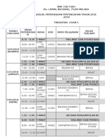 Jadual Ppt Ting 4 Dan 5 2018