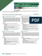 342 Mechanical and Fluid Drive Maintenance Course Description