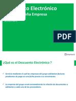 Descuento Electrónico BPE