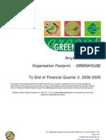 Sample Footprint Greenhouse