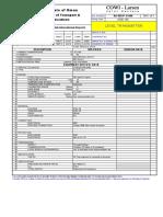 SA 980 P 11408 Level Transmitter Rev T02