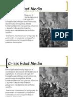 Crisis Medieval