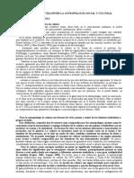 Concepto de Cultura Desde La Antropología Social y Cultural Final