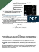 Phet Investigating the Parameters of Circular Orbits