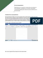 Combinación de Correspondencia Info II