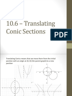 Translating Conic Sections