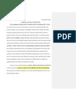 uwrt literacy and language rough draft