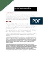 Organizaci n de La Producci n Clase 2