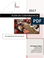 Plan de Contingencia Iep Corazpn de Maria 2017