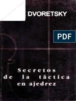 Dvoretsky, Mark - Secretos de La Tactica en Ajedrez (OCR 300 - Gardesa)