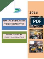 Manual de Procesos US 2016