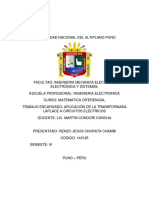 Aplicacion de Transformada Laplace a Crto Electrico