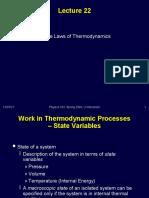 fisika dasar - Minggu 13 - Thermodynamics