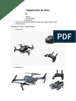 Adquisición de Drone