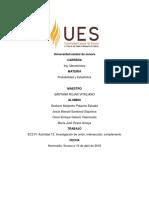 EC2 F1 Actividad 12. Investigación de Unión, Intersección, Complemento