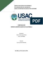 Censos Agropecuarios en Guatemala