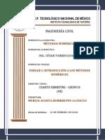 Metodos Numericos Unidad 1