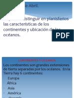 PPT LOS CONTINENTES Y OCEANOS..pptx