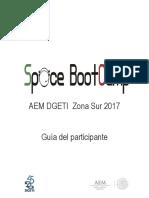 Guia Space BootCamp DGETI Zona Sur 2017