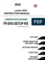Mitsubishi FR Configurator SW3 Manual