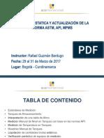 Medición Estática de Hidrocarburos.