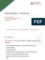 Matemáticas y Medicina - Ángel Martín Del Rey