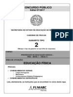 Caderno 4_Tipo 2_PEB Educação Física
