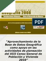 Aprovechamiento de La Bdg Para El Cgp y v 2010_1(Cms)