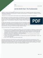Smith Chart Match