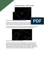 Constelaciones Del Zodíaco 12 Constelaciones
