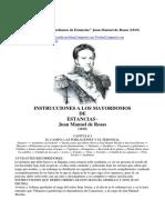 Instrucciones-A-los-Mayordomos de Estancia Rosas Juan M Esy