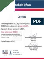 Certificado - Curso Básico de Redes